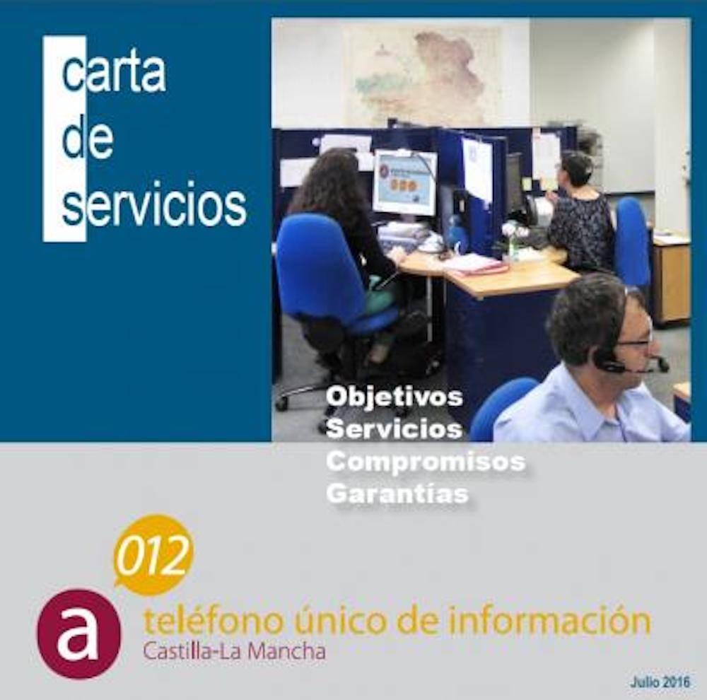 Teléfono 012 Castilla-La Mancha