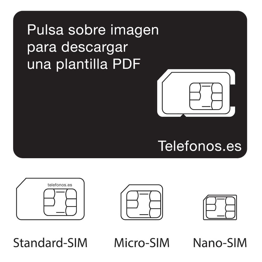 Plantilla de modelos de SIM