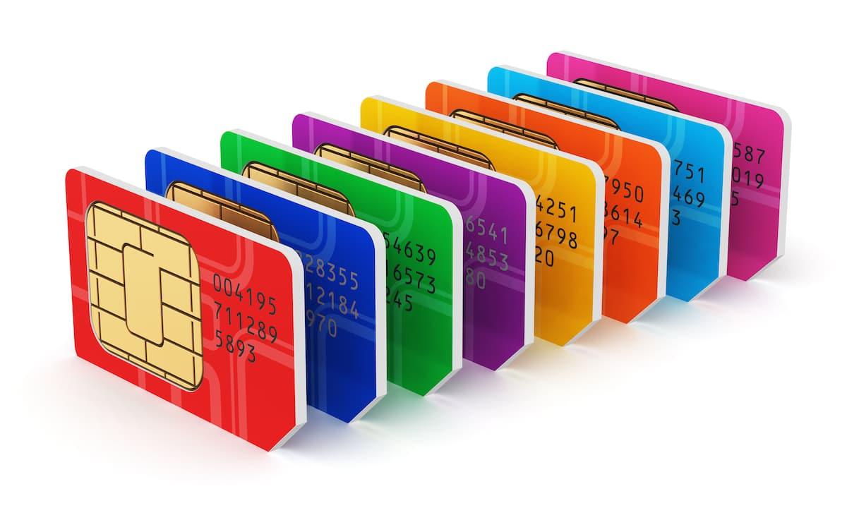 tarjetas SIM móvil