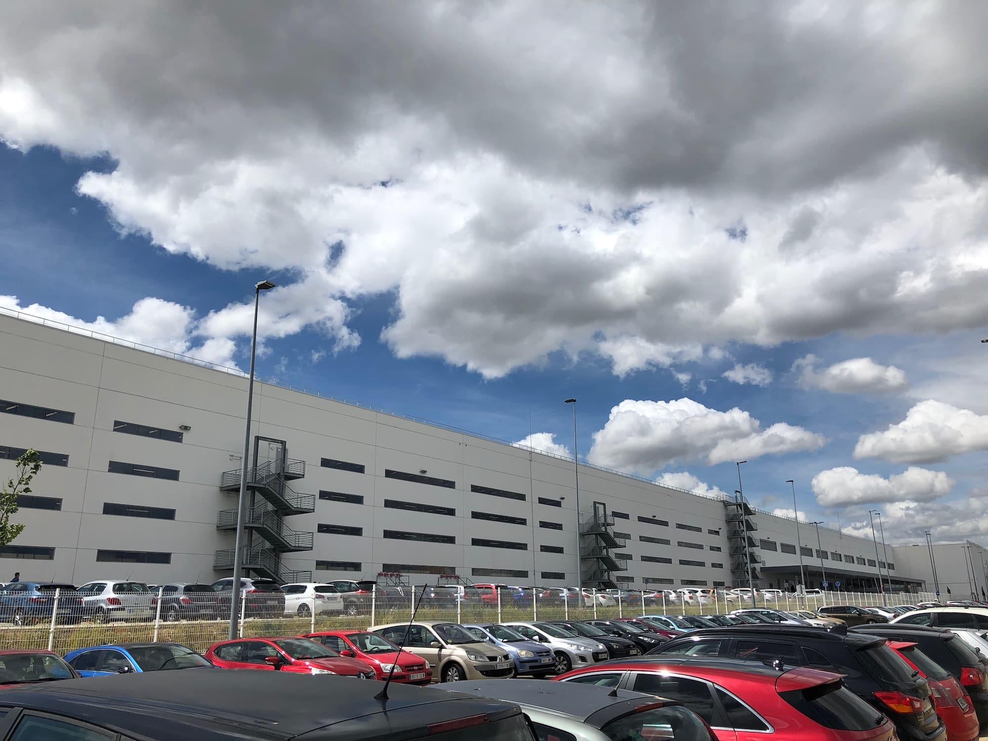 Centro logístico de Amazon Madrid