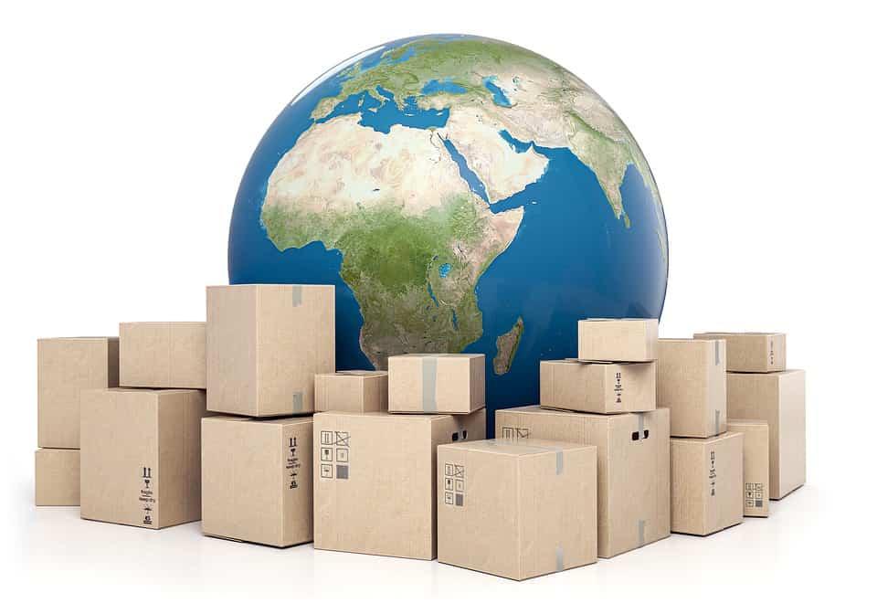 Reparto de paquetería correos express