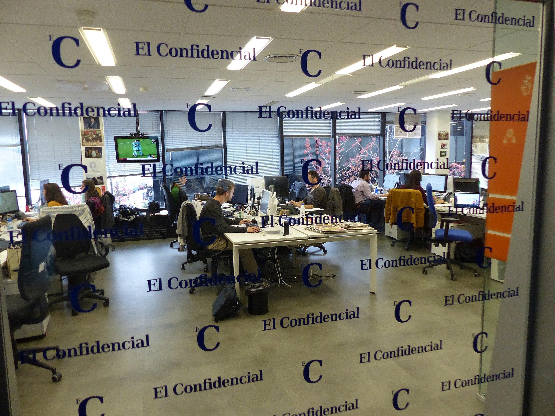 Oficinas de El Confidencial en Madrid