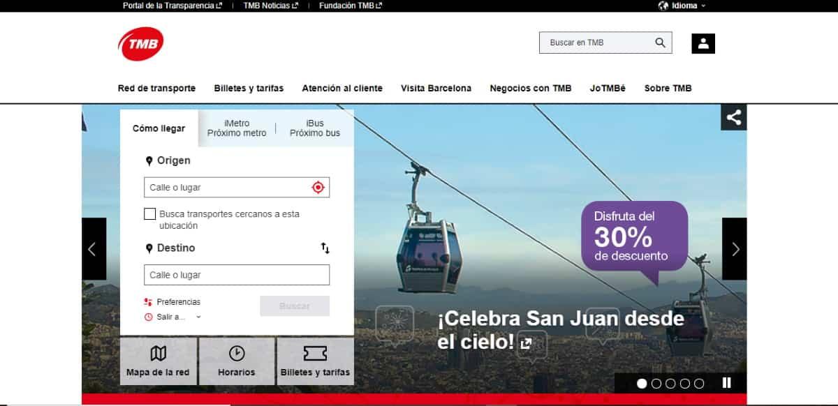 telefonos transportes metropolitanos de barcelona